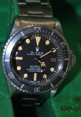 ROLEX SEADWELLER REF 1665 BOX AND PAPERS