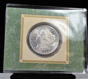1885 O MORGAN SILVER DOLLAR AMERICAN HISTORIC SOCIETY