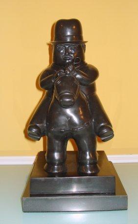 Fernando Botero (colombian) Large Bronze