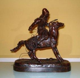 Yevgeny Lancerey Russian Bronze Horse Sculpture