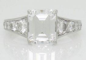 Ivanka Trump Platinum 950 0.55 Tcw Vs F Diamond