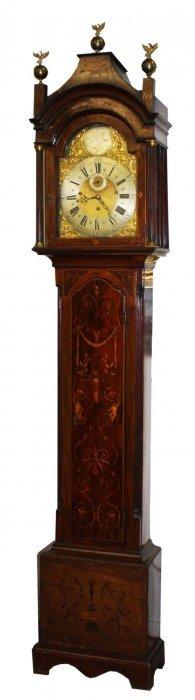 18th C George Iii Tall Case Clock