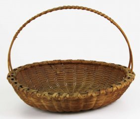 Taghkanic Friendship Basket In Excellent Condition,