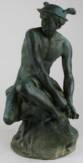 After Jean-baptiste Pigalle (1714-1785) Bronze