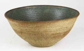 Mid-century Karen Karnes (vt) Studio Pottery Bowl,