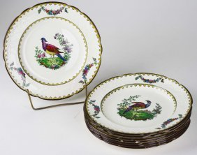 """Set Of 12 Copeland Late Spode """"vienna"""" Transfer And"""