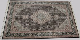 Contemporary Persian Oriental Area Rug, 4' X 6'
