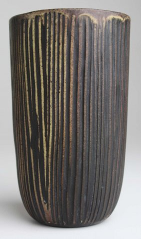 Nancy Wickham Boyd (b 1923) Studio Pottery Vase, Ht