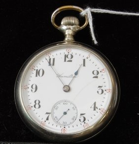 Hamilton 17 Jewel Pocket Watch