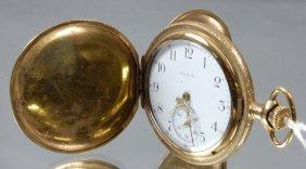 Elgin 15 Jewel Hunting Case Pocket Watch
