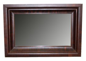 Early 20th C. American Mirror In Rosewood