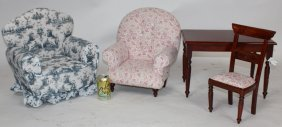 4pc Doll Size Furniture