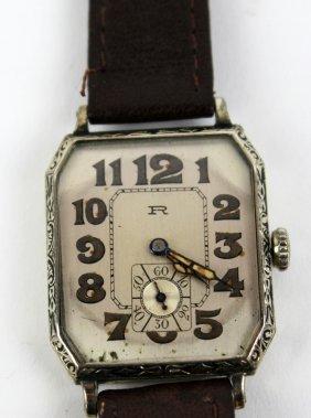 Vintage Robbins, A. Le Coultre, Blancpain Men's Watch
