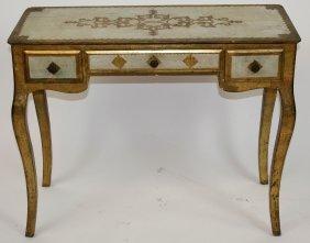Italian Venetian Style Vanity Table