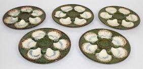 Longchamp Terre De Fer French Oyster Plates