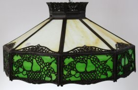 American Stained Glass Hanging Shade.