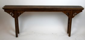 Chinese Elm Wood Altar Table