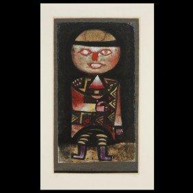 """Paul Klee """"Schauspieler"""" Litho 1923"""
