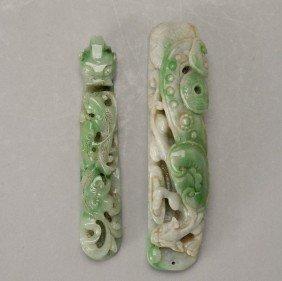 Two Jadeite Objects