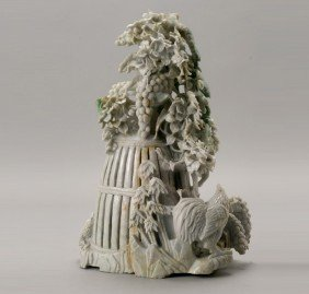 A Large Jadeite Carving