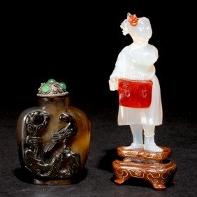 Two Agate Carvings