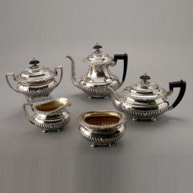 Reed & Barton Silver Plate Teaa & Coffee Service