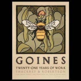 Three David Lance Goines (Contemporary) Graphics