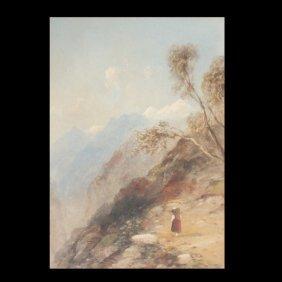 """Edward Tucker """"Tyrol Mt. Path"""""""