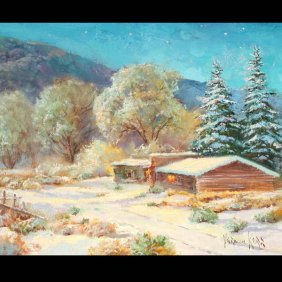 "VERNON KERR  ""Home Is Heaven""   Oil On Canvas."