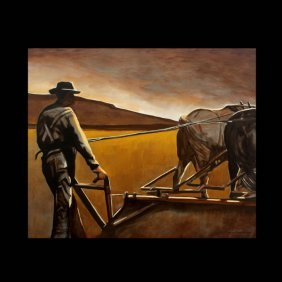 "Thomas Williams ""Plowing The Field"""