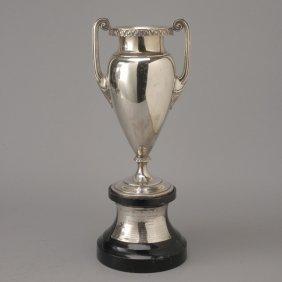 American Art Deco Sterling Presentation Vase