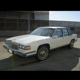 1986 Cadillac Sedan DeVille, 77,228 Miles Indicated