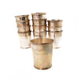 Set Of Twelve Chicago Silver Company Sterling Silver