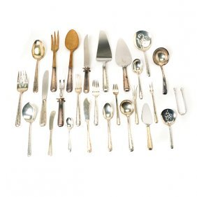 Set Of Towle Candlelight Sterling Silver Flatware