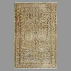 Tabriz Machine Made Carpet: 15 Feet 11 Inches X 25 Feet