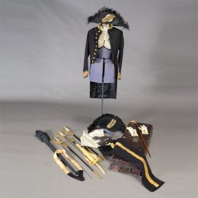 English H.poole And Co. Ceremonial Navy Uniform