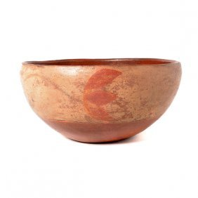 Northern Mexican Pottery Bowl In The Santo Domingo