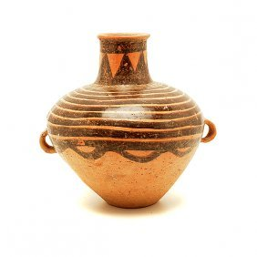 A Handled Pottery Jar, Neolithic Period