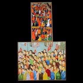 Haitian Art By Casimir & Turkish Art, Oils