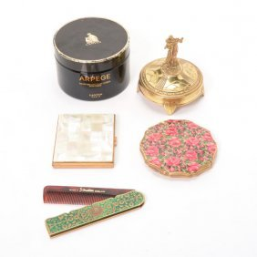 Collection Of Five Dresser Items