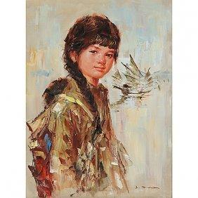 Lee Man Fong (1913-1988): Girl