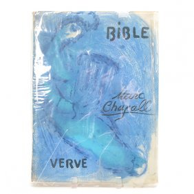 "Marc Chagall ""bible Verve"" Book."