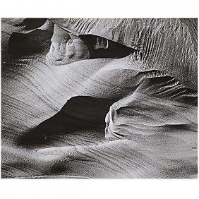 Brett Weston Dunes 1967(baja Series) Silver Gelatin,