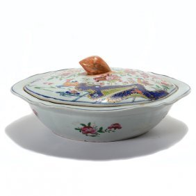 Chinese Export Famille Rose Tureen With Cover