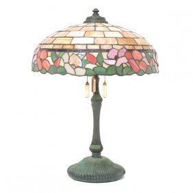 Wilkinson & Co. Leaded Glass Table Lamp