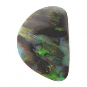 Unmounted Black Opal.