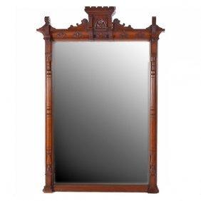 Massive Renaissance Revival Pier Mirror