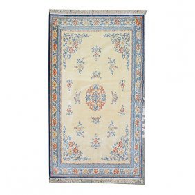 Chinese Carpet: 8 Feet 8 Inches X 12 Feet 2 Inches