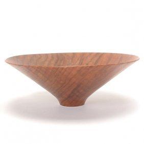Bob Stocksdale California Black Walnut Turned Wood Bowl