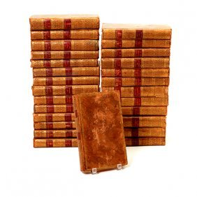 """Twenty Seven Volumes """"oeuvres Complets De Voltaire"""""""
